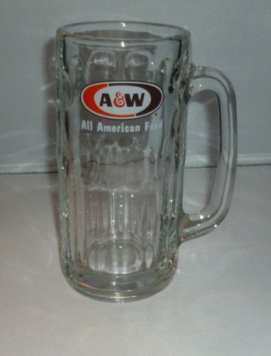 A&W Root Beer All American Food Glass Mug