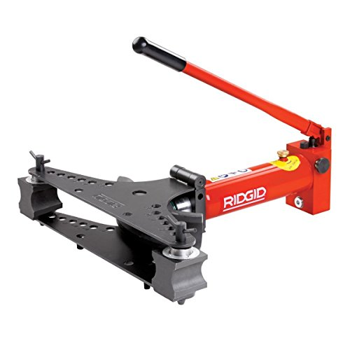 RIDGID 36518 Hydraulic Pipe Bender, Tip-Up Wing Hydraulic Tubing Bender with Single-Circuit Hydraulics for Better Control of the Ram and Precise Bending (Rigid Hydraulic Pipe Bender)