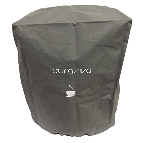 Duraviva Coffee Maker Cover – Nylon, Waterproof, Universal Fit – Fits Keurig K50 K400 K500 series and Similar Brewing Systems (Gray) For Sale