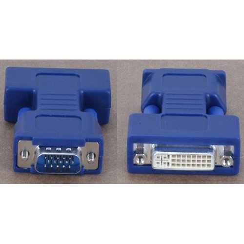Avocent VAD-28 Female DVI-I to Male HD15 VGA Video Adapter