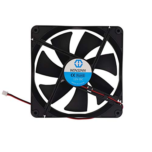 fan dc brushless quiet cooling