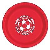 Inch Plate - Spain(8/pkg) (Pack of 3)