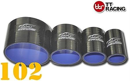 Tricot pour coque en silicone coupleur Droit Turbo Raccord de tuyau Noir