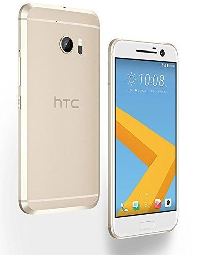 HTC 10 32GB Topaz Gold, 5.2-Inch, 12MP, GSM Factory Unlocked International Version, No Warranty by HTC
