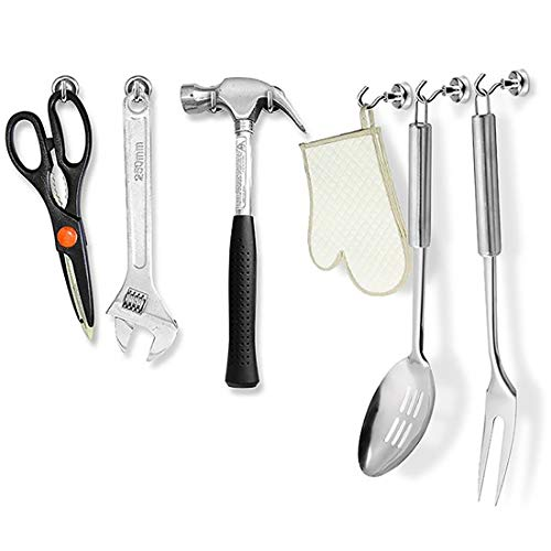 Andux Land Magnetic Hook for Refrigerator and Other Magnetic Surfaces 10Pcs DGNCG-01 by Andux (Image #4)