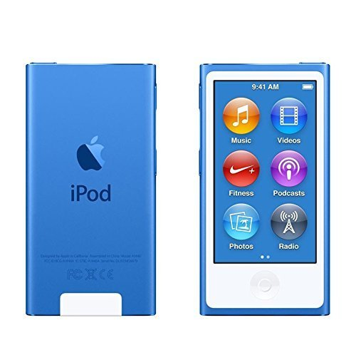 Apple iPod Nano 16GB Blue (7th Generation) Newest Version