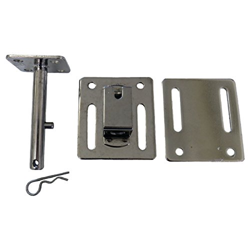 Magma Products, T10-340 Single Square Rail / Vertical Surface Mount