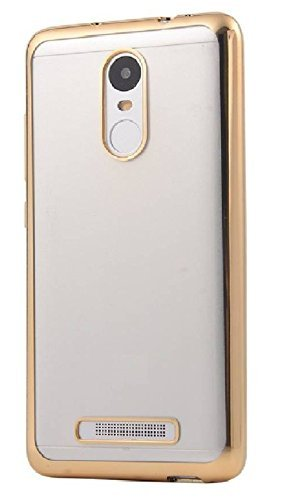 quality design 8f85e 6aa15 Lenovo K6 Note Back Cover, Johra Electroplated Gold: Amazon.in ...