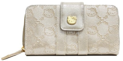 ... Loungefly Hello Kitty Gold Glitter Patent Embossed Wallet - Buy Online  in KSA. e2f02128542d9
