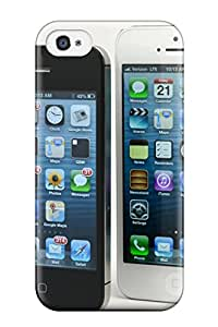 Anti-scratch And Shatterproof Iphone Phone Case For Iphone 4/4s/ High Quality Tpu Case