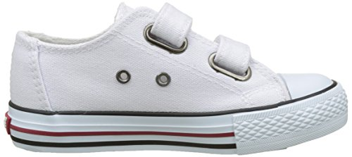 Levi's Trucker Low Velcro - Botas Niños Blanc (White)