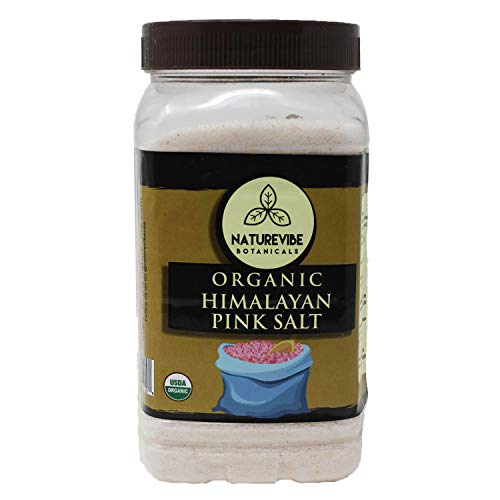 2 Pack Rib Boxer - Naturevibe Botanicals 100% Natural & Healthy Himalayan Pink Salt (2lb) (Fine - Cooking Size) | Adds Taste