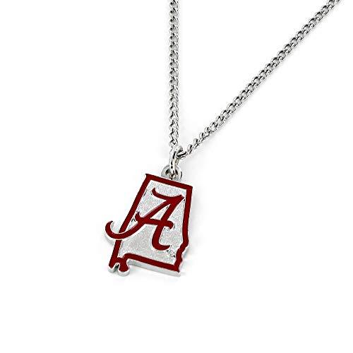 aminco NCAA Alabama Crimson Tide Home State Necklace