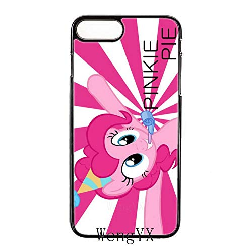 Best Quality - Half-Wrapped Case - My Little Pony Pinkie Pie Black Hard Cover case for Samsung Galaxy S3 S4 S5 S6 S7 Edge S8 S9 Plus Mini Note 3 4 5 8 Phone case - by SeedWorld - 1 PCs