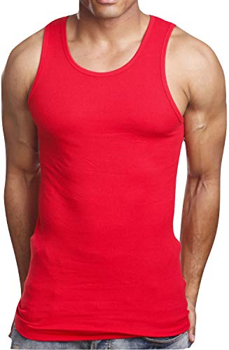 Rorer 714 Costumes - ToBeInStyle Men's A-Shirt Tank Top Muscle