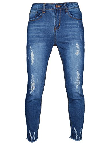 Womens 5 Pocket Hipster Jean - 8
