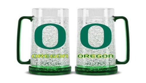 Ncaa Crystal Mug - NCAA Oregon Ducks 16oz Crystal Freezer Mug