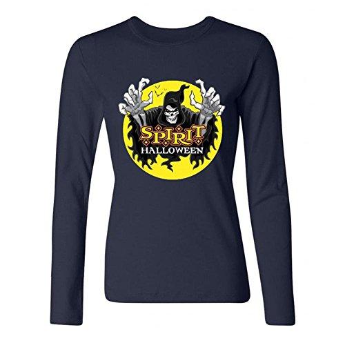 Women's Halloween Long Sleeve T-Shirt -