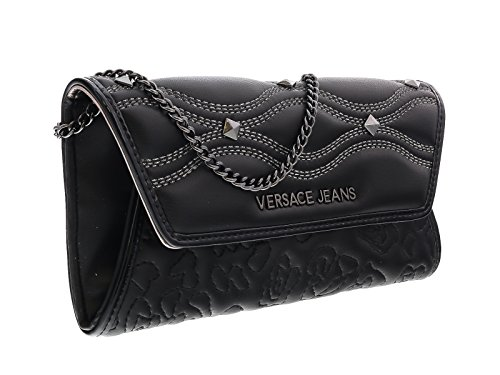 Versace EE3VOBPK3 E899 Black Wallet On A Chain