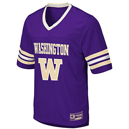 Colosseum Mens Washington Huskies Football Jersey - ()