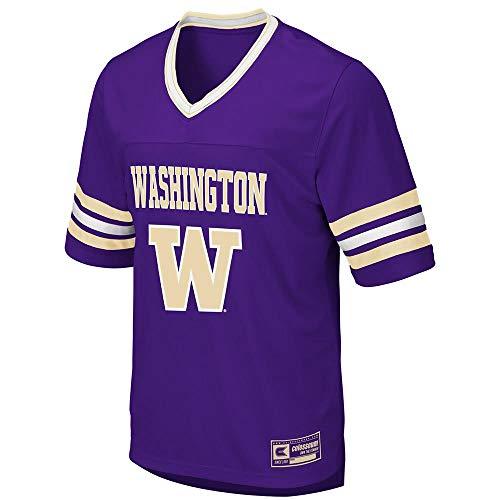 (Colosseum Mens Washington Huskies Football Jersey - XL )