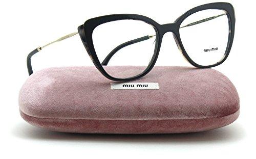 Miu Miu 02QVA Women Butterfly Eyeglasses Asian Fit (ROK-1O1) - Optical Miu Miu Frames