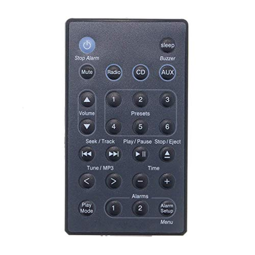 New Remote Control Compatible with Bose Wave Music System 3 III (Black Color) (Wave Radio 3)