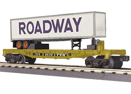 MTH TRAINS; MIKES TRAIN HOUSE TTX Flat CAR W/40' Trailer