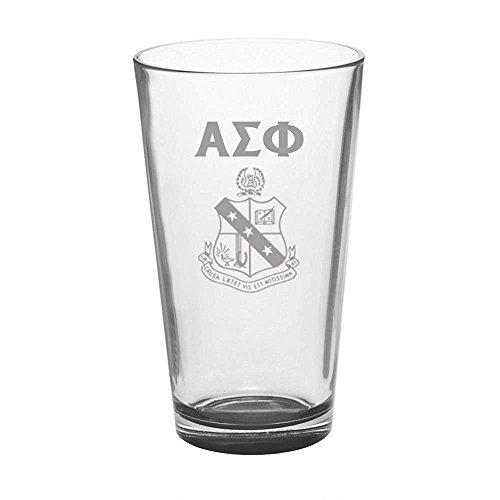 (Greekgear Alpha Sigma Phi Mixing Glass)