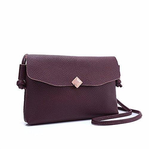 La Minimalista Violet Bolso Hombro Bolso Moda Gris Elegante GWQGZ De Señoras Elegante 7TRWwwqd