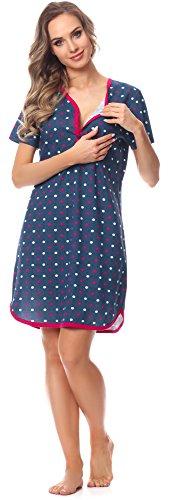Modello Camicia Cornette da Donna 13 per notte CR6172016 wdYYZOrqx