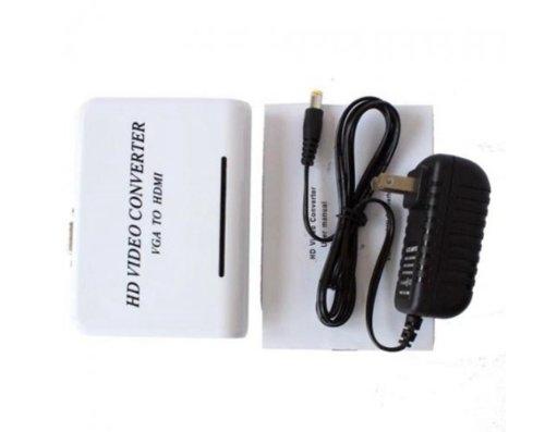 aoeyoo 1080P Audio VGA to HDMI HD HDTV Video Converter Box A