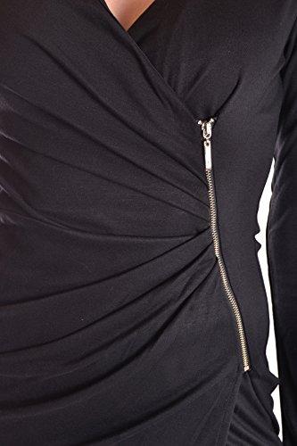 Damen Liu Schwarz Kleid Jo MCBI191239O Viskose YWqA0Fw