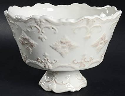 Sweet Olive Designs Fancy Scroll-Antique White 9\u0026quot; Round Serving Bowl Fine China & Amazon.com | Sweet Olive Designs Fancy Scroll-Antique White 9"|425|327|?|en|2|f3803fcd8177f879c4d32bfafd532336|False|UNLIKELY|0.3145570158958435