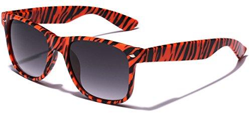 Children Colorful Animal Print Wayfarer Sunglasses Age 6-14 - - Sunglasses Tiger