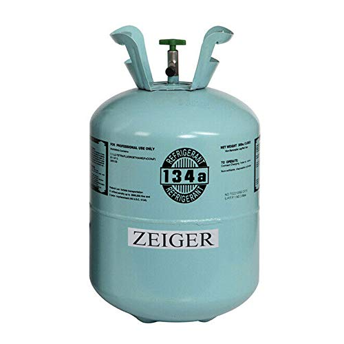 Price comparison product image Zeiger R134A Refrigerant,  Full of R-134A,  Net 30LB Tank,  134A Suitable for Automotive air conditioners,  refrigerators