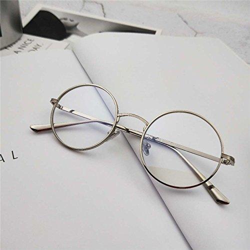 d8e57cafd3 ... Gafas de sol,la caja de plata. Chic Sunyan Nueva ronda de antigüedades  de estilo hip-hop anteojos polarizados Boomer macho rojo