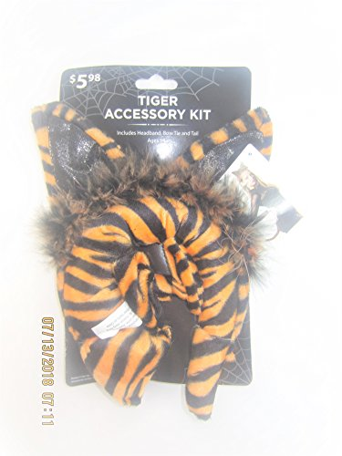 Halloween 3 Piece Tiger Accessory Kit for Kids Costume Set ()