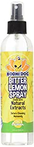 NEW Bitter Lemon Spray   Stop Biting and Chewing for Puppies Older Dogs & Cats   Anti Chew Spray Puppy Kitten Training Treatment   Non Toxic   Professional Quality - Made in USA - 1 Bottle 8oz (240ml)