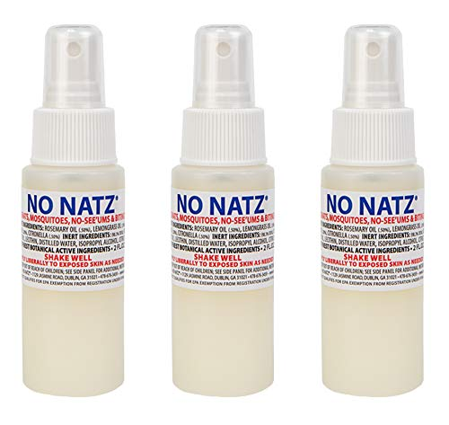 No Natz Insect & Bug Protection 2oz- 3 Pack