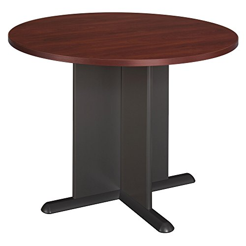 Bush Business Furniture 42 Inch Round Conference Table in Hansen Cherry by Bush Business Furniture