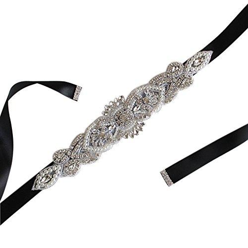 embellished belt for wedding dress - 8