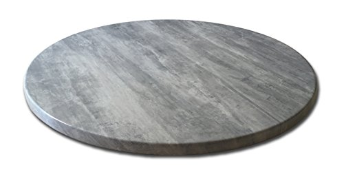 Holland Bar Stool Co. OD36RGryStn Indoor/Outdoor Table Top, Greystone (Top Round Table Pine)