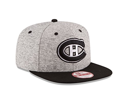 new arrival 353b4 87399 NHL Montreal Canadiens Team Rogue Snap 9Fifty Original Fit Cap, One Size,  Gray Heather