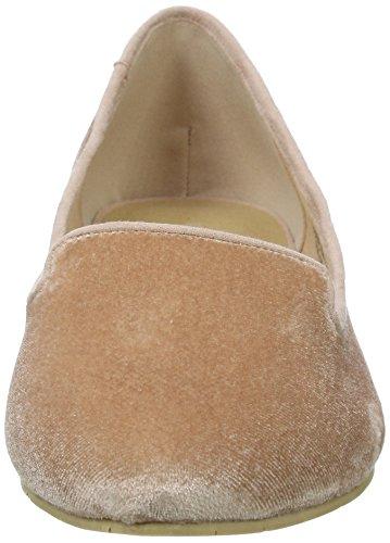 Bianco Damen Samt Loafer 25-49634 Slipper Pink (Rose/46)