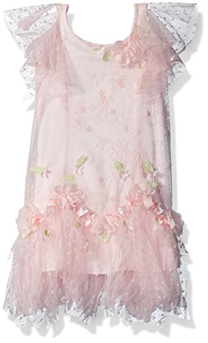 Biscotti Toddler Girl's Heirloom Romance Dress Dress, Pink, (Heirloom Dresses For Girls)