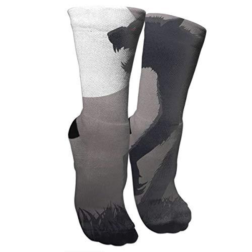 New Lurking Werewolf Fashion Stylish Knee High Socks