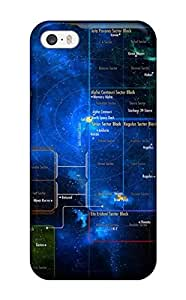 For Iphone 5/5s Tpu Phone Case Cover(star Trek)