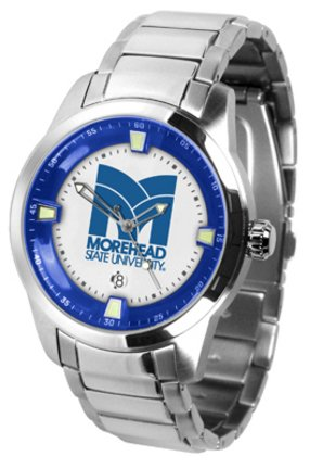 (SunTime Morehead State Eagles Titan Steel Watch)
