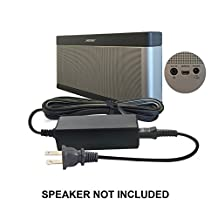 ABC Products® Replacement Bose 17V to 20V / 17 to 20 Volt Mains Battery Charger Adapter Adaptor Power Supply plug Cord for SoundLink I, II, III, 1, 2, 3 Wireless Bluetooth Mobile Portable Speaker etc